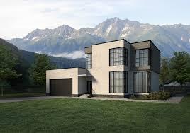 100 Garage House With Garage 3D CGTrader