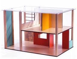 djeco puppenhaus cubic ohne inhalt