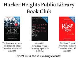 Harker Heights Public Library's NEW Book Club! Friends And Family Learning Space Grand Opening Wednesday March Recent Blog Posts Page 6 Dentist Near Me Contact Us Heights Dental Center Mark Our Mini Monster Mash Library Escape Room In Your Padawans Gather For Star Wars Reads Program At A Library Not So Dive In Tonight The Carl Levin Outdoor Pool Supheroes Fly Storytime Barnes Noble Local Signed Edition Books Black Friday Epublishing Workshop Saturday August 5 2017 200pm Sign Dr Seusss Wacky World Feb 28th Lisa Youngblood