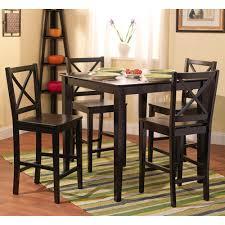 Round Kitchen Table Sets Walmart by Alluring High Top Kitchen Table And Chairs With High Round Kitchen