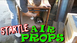 Diy Halloween Coffin Prop by Diy Pneumatic Prop Set Up With Compressed Air System Youtube