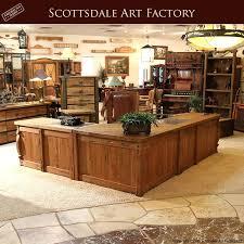 Rustic Wood Office Desk Fabulous Custom Furniture Executive Made