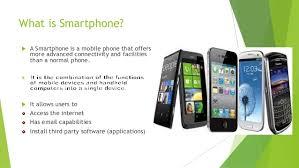 Presentation on smartphone by Apu