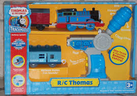 Thomas And Friends Tidmouth Sheds Trackmaster by Image Trackmaster Hittoys Rcthomaswithmailcoachandicevanbox Jpg