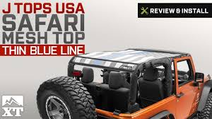 Jeep Wrangler J Tops USA Safari Mesh Top (2007-2017 JK 2-Door ...