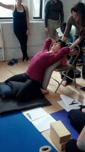 Youtube Chair Yoga Sequence by 158 Best Chair Images On Pinterest Iyengar Yoga Chairs And