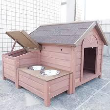 außen hund käfig regendicht mit aufbewahrungsbox und