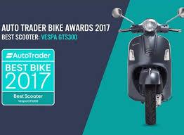 Vespa GTS 300 Is Auto Traders Best Scooter 2017 Winner