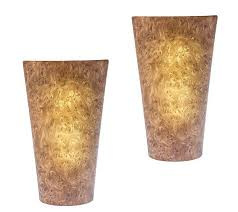 set of two battery powered wall sconce page 1 qvc
