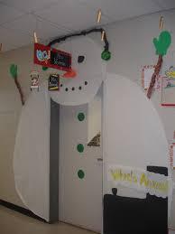 Classroom Door Christmas Decorations Pinterest by Winter Classroom Door Decorations Crafty Classroom Door