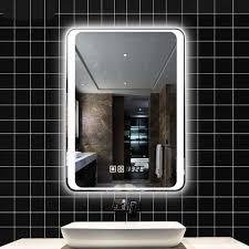smart spiegel led bad spiegel wand bad spiegel bad wc nebel licht spiegel mit touch screen lo6111151