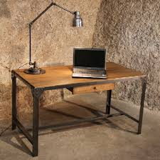 bureau en acier page création et sur mesure déco bureau industriel