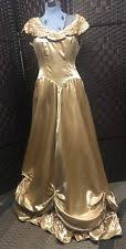 New ListingTrue Vintage Formal Satin Gown 50s Great Condition