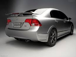 Honda Civic Si Sedan Concept 2007 Exotic Car Wallpaper 003 of