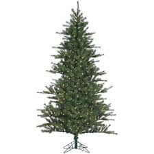 Slim Pre Lit Christmas Trees 7ft by National Tree Company Pre Lit Christmas Trees Artificial