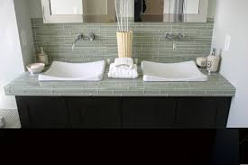 grand tiled bathroom vanity tops countertops tile home design ideas