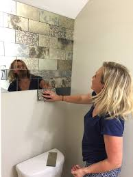 antique mirror subway tiles the glass shoppe a division of