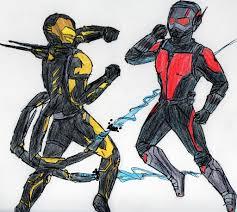 Ant Man Vs Yellowjacket By CristianGarro