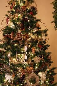 Rustic Christmas Tree Decorating Ideas Crafts