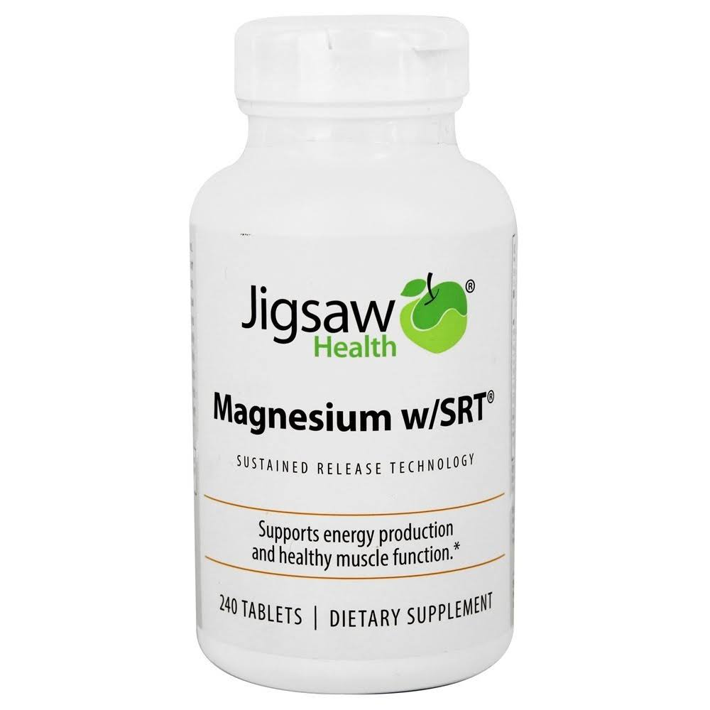 Jigsaw Health Magnesium with SRT Tablets - x240