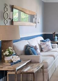 Love This Rope Lamp And The Rustic Coastal Look Of Living Room Homedecor