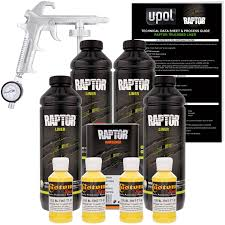 Amazon.com: U-POL Raptor Safety Yellow Urethane Spray-On Truck Bed ...