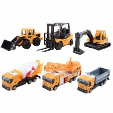 100 Toy Construction Trucks Collectible DieCast Model 164 Small Scale S