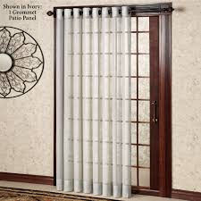 Door Curtain Panels Target by Patio Door Curtains And Blinds Ideas Thermal Patio Door Curtains