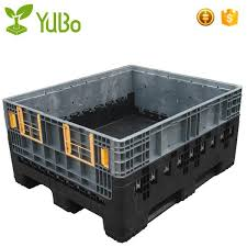 12001000mm Custom Collapsible Plastic Pallet Container Box Dimensions Shipping Supplier