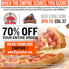 Papajohns.com Coupon Codes W/ $9 Discount In January 2020 ... Papa Johns Coupons Shopping Deals Promo Codes January Free Coupon Generator Youtube March 2017 Great Of Henry County By Rob Simmons Issuu Dominos Sales Slow As Delivery Makes Ordering Other Food Free Pizza When You Spend 20 Always Current And Up To Date With The Jeffrey Bunch On Twitter Need Dinner For Game Help Farmington Home New Ph Pizza Chains Offer Promos World Day Inquirer 2019 All Know Before Go Get An Xl 2topping 10 Using Promo Johns Coupon 50 Off 2018 Gaia Freebies Links