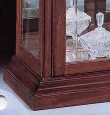 philip reinisch oxford large curio cabinet in cherry cherry