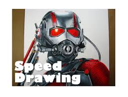 Drawing Ant Man Speed
