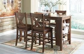 Caitbrook 5 PC Pub Set - Warm Brown | Orange County, CA ...
