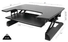 Standing Desk Top Extender Riser by Desk Riser Blocks Best Home Furniture Decoration