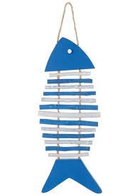 fisch untersetzer blau
