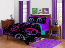 Peace Sign Bedding For Girls
