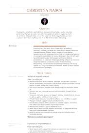 14 Fantastic Technical Support Analyst Resume Example