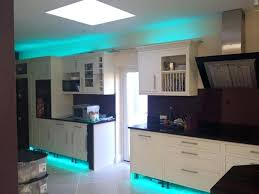 led lighting for kitchen cabinets image of led kitchen