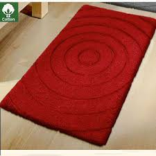 Red And Black Bathroom Rug Set by Contemporary Bath Rugs Roselawnlutheran