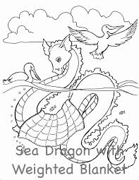 Mythological Critter Coloring Pages