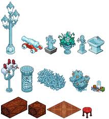 New Furni In Habbo Hotel Insted They Call Christmas It SnowFlakes Get Snowflakes If Finish 1 Quest Of