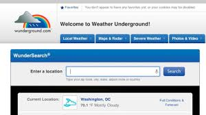 100 Wundergrounf The Weather Channel Buys Up The Crowdsourced Weather Underground