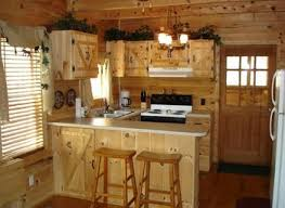 Log Cabin Kitchen Ideas by Small Kitchen Rustic Cabin Normabudden Com