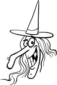 Free Worksheets Witch Hat Coloring Page Beautiful