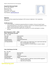 Best Resume Examples Malaysia New Contoh Format Unique Template