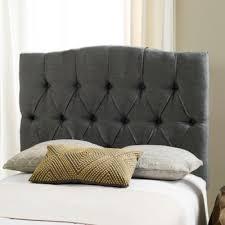 Skyline Grey Tufted Headboard by Buy Grey Tufted Headboard From Bed Bath U0026 Beyond