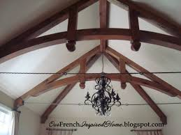 100 Rustic Ceiling Beams French Inspired Home Old World Design