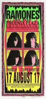 Iggy Pop Agora Theatre 4 13 1996 Artist Mark Arminski AoMR 1791 Silkscreen 105 X 22 Inches