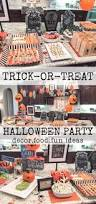 Puking Pumpkin Guacamole Dip by Trick Or Treat Halloween Party House Of Hargrove