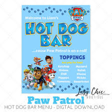 Paw Patrol Hot Dog Bar Menu With Food Labels/Food Tents Best 25 Hot Dog Bar Ideas On Pinterest Buffet Bbq Tasty Toppings Recipes Gourmet Hot Win Memorial Day With 12 Amazing Dog Toppings Organic Grass Teacher Appreciation Lunch Ideas Bar Bratwurst And Jelly Toast Easy Chili Recipe Dogs What Does Your Say About You Psychology Long Weekend Cookout Food Click Create A Joy Of Kosher The Smart Momma Poker Run